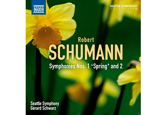 "The Seattle Symphony - Symphonies Nos. 1 ""Spring"" and 2 - (CD)"