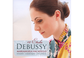 Mariangela Vacatello - Debussy: 12 Etudes - (CD)