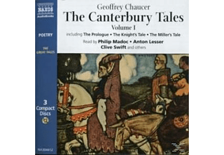 THE CANTERBURY TALES - 3 CD - Literatur/Klassiker
