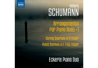 Eckerle Piano Duo - Schumann: Arrangements For Piano Duet Vol.1 - (CD)
