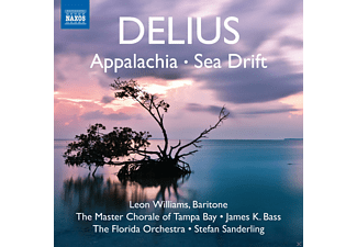 Stefan Sanderling, Florida Orchestra, The Master Chorale of Tampa Bay, James K. Bass, Leon Williams - Appalachia / Sea Drift - (CD)