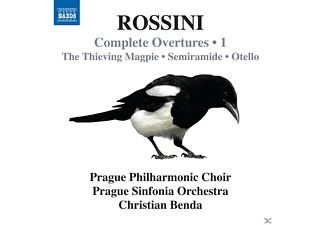 Christian Benda, Prague Philharmonic Choir, Prague Sinfonia Orchestra - Complete Overtures Vol. 1 - (CD)