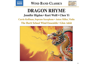 Carrie Koffman, Anton Miller, Hartt School Wind Ensemble - Dragon Rhyme - (CD)