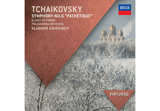 "Peter Iljitsch Tschaikowsky, The Philharmonia Orchestra - Tschaikowsky - Sinfonie No. 6 ""pathetique"" & Elegy For Strings [CD]"