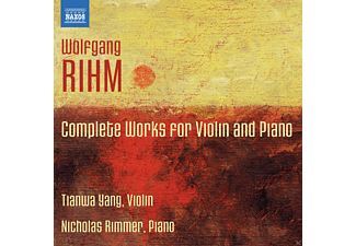 Tianwa Yang, Nicholas Rimmer - Complete Works for Violin and Piano - (CD)