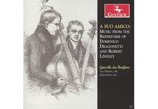Guy Fishman, Robert Nairn - A Suo Amico - Music From The Repertoire Of Domenico Dragonetti And Robert Lindley - (CD)