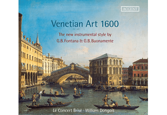 Le Concert Brise, William Dongois - Venetian Art 1600 - (CD)