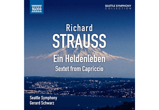 Gerard Schwarz, The Seattle Symphony - Ein Heldenleben/ Sextett from Capriccio - (CD)
