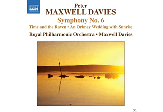 Royal Philharmonic Orchestra, Maxwell Davies - Symphony No. 6 - (CD)