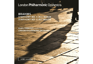 The London Philharmonic Orchestra - Symphony No. 1 In C Minor - Symphony No. 3 In F Major - (CD)