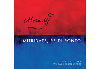 Barry Banks, Miah Persson, Lawrence Zazzo, Sophie Bevan, Robert Murray, The Orçhestra of Classical Opera - Mitridate, Re Di Ponto [CD]