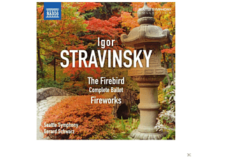 Gerard Schwarz, Seattle Symphony Orchestra - The Firebird - Fireworks - (CD)
