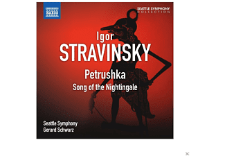 Gerard Schwarz, Seattle Symphony Orchestra - Petruschka - Song of the Nightingale - (CD)