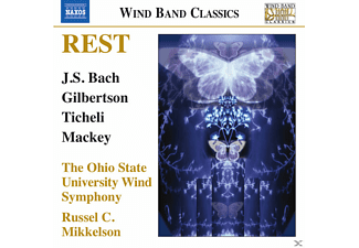 Russel C. Mikkelson, The Ohio State University Wind Symphony - Rest - Music for Wind Band - (CD)