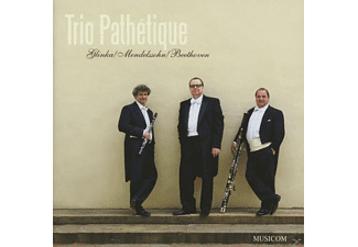 Trio Pathetique - Glinka/Mendelssohn/Beethoven - (CD)