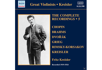 Fritz Kreisler - Complete Recordings 5 - (CD)