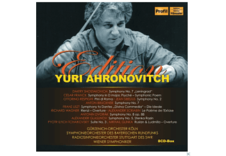 VARIOUS - Yuri Ahronovitch Edition - (CD)