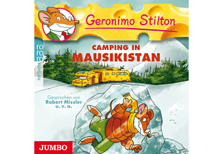 Geronimo Stilton - Geronimo Stilton 12: Camping in Mausikistan - (CD)