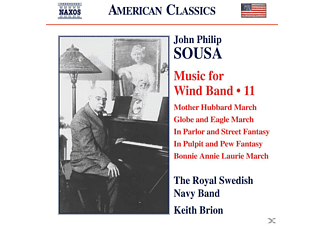 Keith Brion, Royal Swedish Navy Band - Music for Wind Band Vol.11 - (CD)
