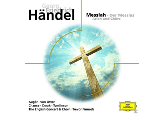 Arleen Auger, Michael Chance, John Tomlinson, The English Concert & Choir, Anne Sofie Von Otter, Howard Crook - Der Messias - Arien Und Chöre - (CD)