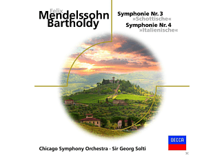 Chicago Symphony Orchestra - Sinfonien 3 & 4 - (CD)