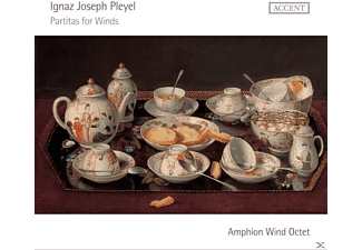 Amphion Wind Octet - Partitas For Winds - (CD)