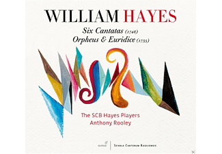 The SCB Hayes Players - Six Cantatas (1748)/Orpheus & Euridice (1735) - (CD)