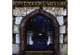Keith Emerson - Live From Manticore Hall - (CD)