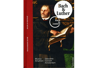 Gesualdo Consort Amsterdam, Musica Amphion - Bach & Luther - (CD)