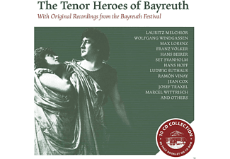 Schock, Hopf, Beirer, Vinay, Windgassen - The Tenor Heroes Of Bayreuth [CD]