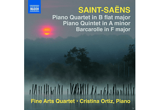 The Fine Arts Quartet, Ortiz Cristina - Piano Quartet / Piano Quintet / Barcarolle - (CD)