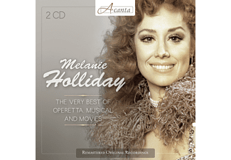 Melanie Holliday, René Kollo, Rudolf Schock, Peter Minich - Melanie Holliday - The Very Best Of Operetta Musical And Movies - (CD)