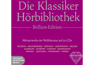 "Die Klassiker-Hörbibliothek ""Brillant-Edition"" - 30 CD - Anthologien/Gedichte/Lyrik"