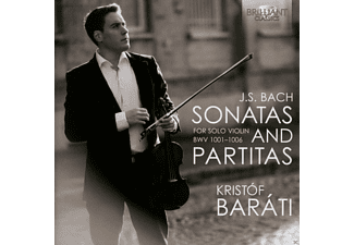 Kristof Barati - Sonatas And Partitas For Solo Violin - (CD)