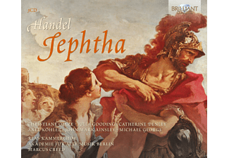 Marcus Creed, Christiane Oelze, Julia Gooding, Catherine Denley, Akademie Alte Musik Berlin, Rias Kammerchor - Jephtha - (CD)