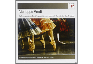 James Levine, Metropolitan Opera Orchestra - Ballet Music From The Operas - (CD)