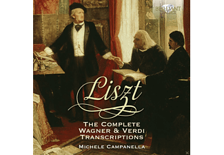 Michele Campanella - The Complete Wagner & Verdi Transcriptions - (CD)