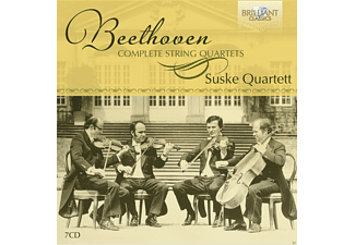 Suske-quartett - Complete String Quartets - (CD)