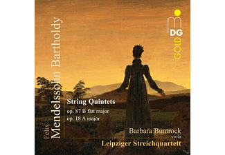 Barbara Buntrock, Leipziger Streichquartett - String Quintets Op. 87 B flat major - Op. 18 A major - (CD)