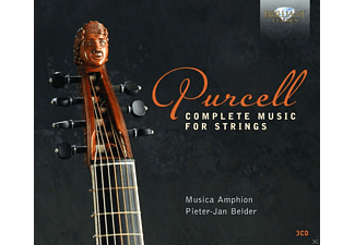 Musica Amphion - Complete Music For Strings - (CD)