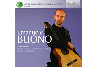 Emanuele Buono - Barrios Competition Vol.2 - (CD)