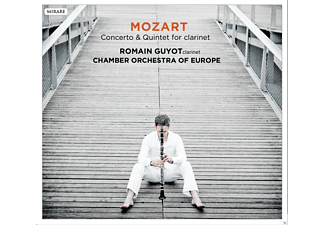 Romain Guyot, Chamber Orchestra Of Europe - Concerto & Quintet For Clarinet - (CD)