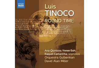 David Alan Miller, Orquestra Gulbenkian - Round Time / From the Depth / Search Songs - (CD)