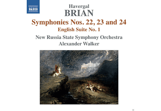 New Russia State Symphony Orchestra, Walker Alexander - Symphonies Nos. 22, 23 and 24 - (CD)
