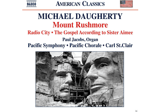 Paul Jacobs, Carl St. Clair, Pacific Chorale, Pacific Symphony - Mount Rushmore - (CD)