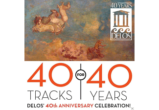 VARIOUS - 40 Tracks For 40 Years - (CD)