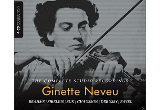 VARIOUS - Ginette Neveu - The Complete Studio Recordings - (CD)