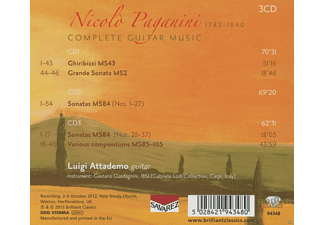 Luigi Attademo - Complete Guitar Works - (CD)