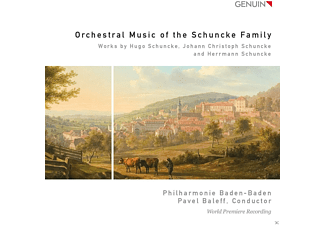 Yasushi Ideue, David Pia, Robert Langbein, Philharmonie Baden-Baden - Orchestral Music Of The Schuncke Family - World Premiere Recording - (CD)