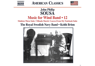 Royal Swedish Navy Band - Music For Wind Band Vol.12 - (CD)